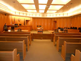 A large courtroom can be a scary place if you are there for a TPO hearing.